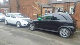 Breaking corsa c 1.4sri 20r black all parts available private plate s30sye