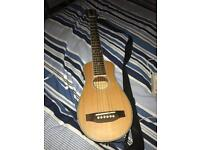 Harley Benton travel electro-acoustic travel guitar