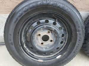 Goodyear Nodic Winter tires (50 each or 180 for four) MOUNTED