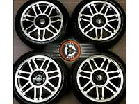 """17"""" Brand New VW alloys 5x100, polished over black, great tyres."""