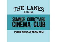 Summer Courtyard Cinema Club : Zombieland