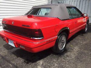 1990 Chrysler Le Baron Convertible