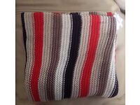 stokke striped blanket with poppers
