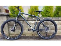 hardtail, mountain bike,