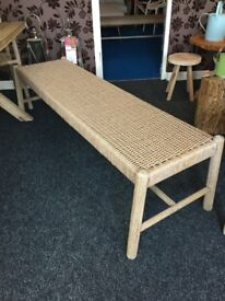 John Lewis Croft Collection Islay 3-Seat Dining Bench