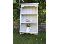 Solid Pine Painted Wall Shelf