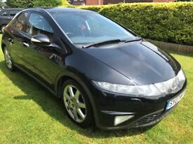 Superb Value 2007 Civic 2.2 CDTI EX 5 Dr Hatch 112000 Miles Service History HPI Clear Great MPG