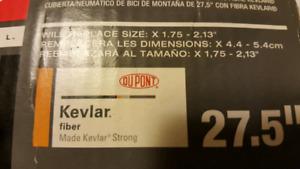 "SET OF 27.5"" BRAND NEW MOUNTIAN BIKE TIRES"