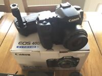 Canon EOS 40D with Battery Grip and Accessories