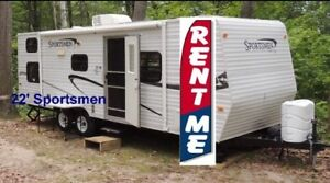 Large TRAVEL TRAILER FOR RENT