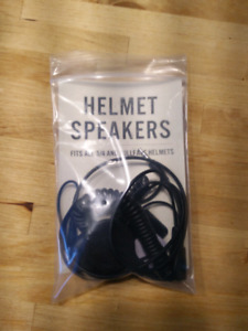 Town moto motorcycle helmet speakers