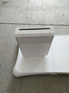 Nintendo Wii with Games, Drums, Guitars