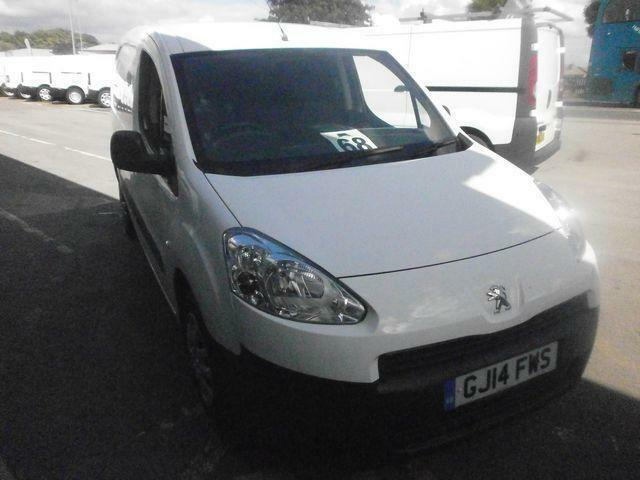 Peugeot Partner 625 1.6 Hdi 75 Professional Van DIESEL MANUAL WHITE (2014)