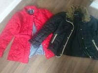 2 Size 12 jackets