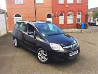 **2010 59 Reg Vauxhall Zafira Exclusiv 1.6 7 SEATER Long MOT Lady Owner 100% Excellent Runner**