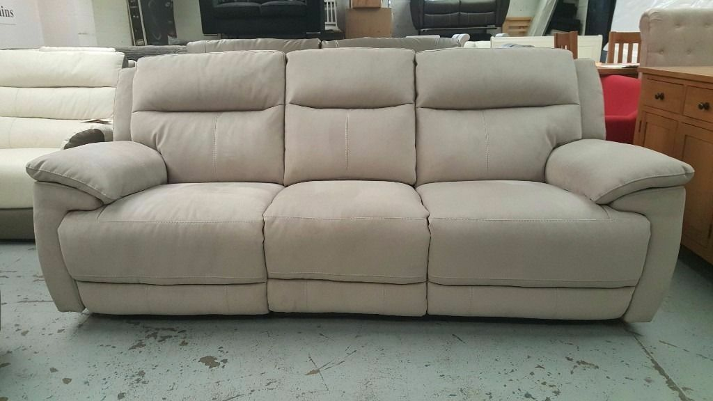 Furniture Village Belfast furniture village belfast ex touch 3 seater electric recliner sofa