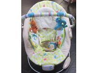 Taggies Comfort and Harmony bouncers