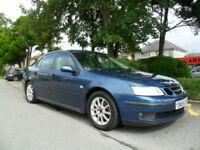 SAAB 9-3 1.9 2005 LINEAR SPORT COMPLETE WITH M.O.T HPI CLEAR