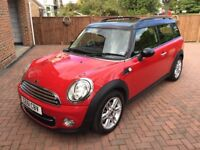 Mini Clubman, 1.6l D cooper Chilli pack, well cared for, FSH,low mileage