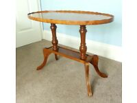 Occasional Table / Coffee Table lots of detail W31in/79cm D17in/43cm H22in/56cm