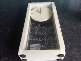 Small clock, brand new in box from next