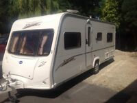 Bailey senator Indiana 2006 fixed bed touring caravan