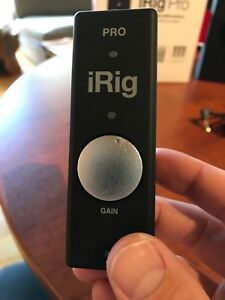 IRig Pro (IK Multimedia) Audio-MIDI interface