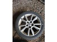 "vauxhall 17"" set of 4 alloys"