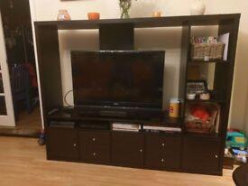 Tv unit and corner cabinet