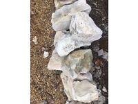 70 garden rocks