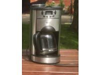 Delta Coffee Maker including coffee bean grinder. Very good condition.