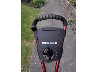 Qwik Fold 3 wheel Golf Trolley
