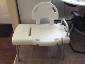 Like New Deluxe Bath Chair (New Price)