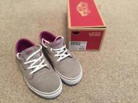 Vans trainers size 4.5 uk in excellent condition