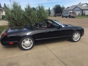 2002 Ford Thunderbird Convertible Reduced