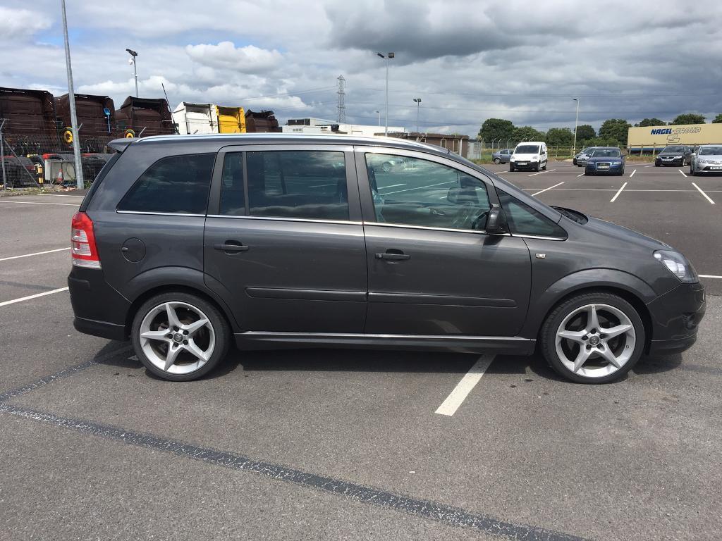 Vauxhall Zafira 1.9 CDTI SRI 150bhp