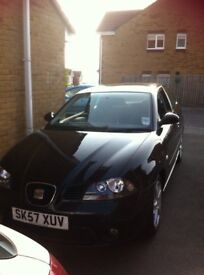 Seat Ibiza in Great Conditon* Full Service History with Receipts* New Battery & MOT Jul 2018