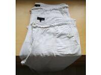 White linen trouser size 16 regular