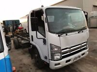 MITSUBISHI CANTER 3C13 CHASSIS CAB 63REG SPARES OR REPAIRS FOR SALE