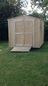 Quality built storage sheds .$1300 all in built on site in 1 day