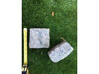 20 decrotive garden stones .