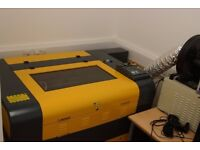 Production Laser Cutter/Engraver - JD6090 Model - Nearly New