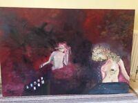 Love's Bleeding Heart - Orginal Artwork