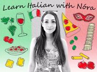 Learn Italian with Nóra! One-to-one lessons. First lesson FREE!