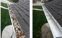 Eavetrough cleaning