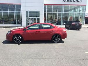 2014 Toyota Corolla S LEATHER; P/ROOF; P/SEAT; BU CAMERA; HEA...
