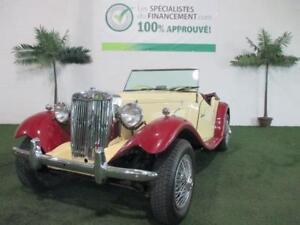 MG MGA 1952 CONVERTIBLE  +++WOW SEULEMENT A 8966$++++