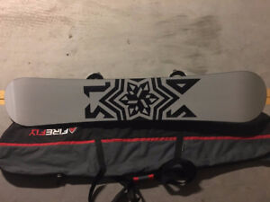 """5150 Shifter 62"""" Snowboard with Ride bindings"""