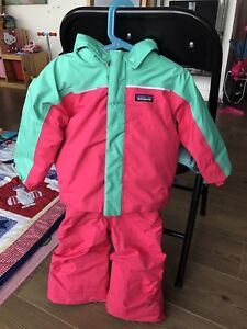 Patagonia winter snow jacket and pants girls 2T