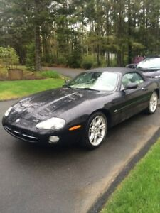 2001 Jaguar XK8 wood Convertible